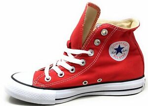 chaussure converse rouge homme