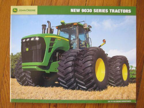 John Deere 9630T 9530T 9430T 9630 9530 9430 9330 9230 Tractor Brochure