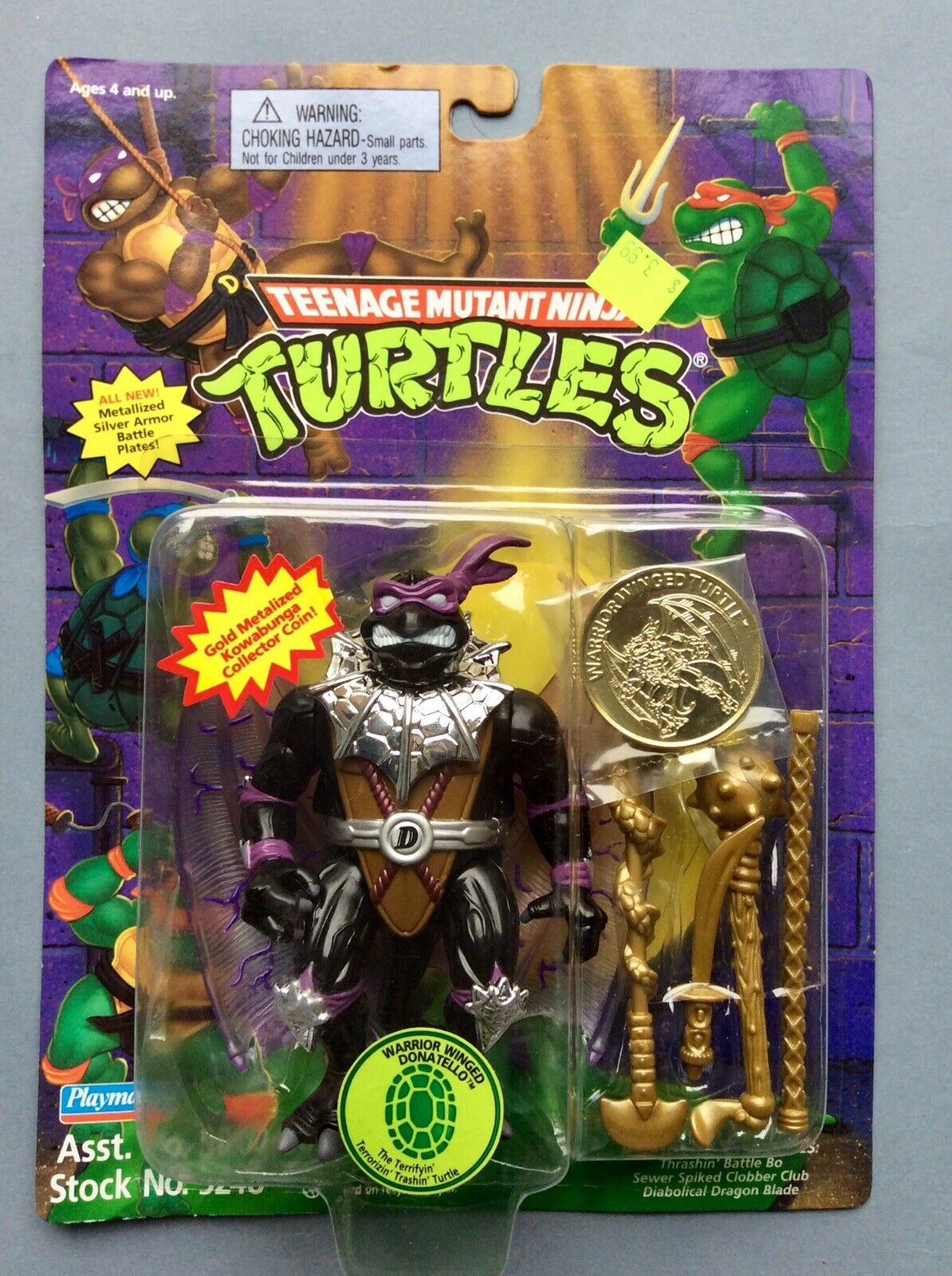 WARRIOR WINGED DONATELLO DON TEENAGE MUTANT NINJA TURTLES TMNT MOC TORTUES