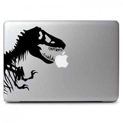 Jurassic Park White Sticker Decal T-Rex Dinosaur Tyrannosaur White Car Window Wall Macbook Notebook Laptop Sticker Decal