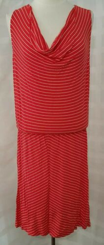 NWT Women/'s Joe Fresh Dress Sz M Red//White Stripes Retail 29.00 #8.0-3021519004