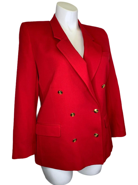Kupit Austin Reed Wool Blazer Jacket 16 Petite Red Na Aukcion Iz Ameriki S Dostavkoj V Rossiyu Ukrainu Kazahstan