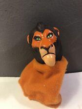 1995 Disney The Lion King SCAR Finger Puppet Burger King Kids Club Meal Toy