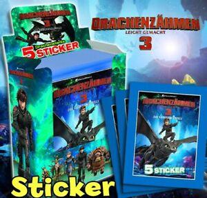 Drachenzähmen leicht gemacht 3 Die geheime Welt Blue Ocean Sammel Sticker 84