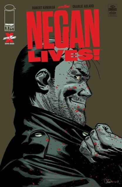 NEGAN LIVES #1 IMAGE COMICS  1st PRINT WALKING DEAD COVER A