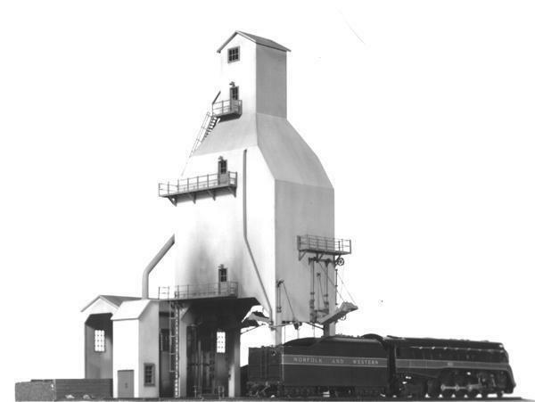 Tichy Train Group 400 Ton Coaling Tower Kit HO Scale