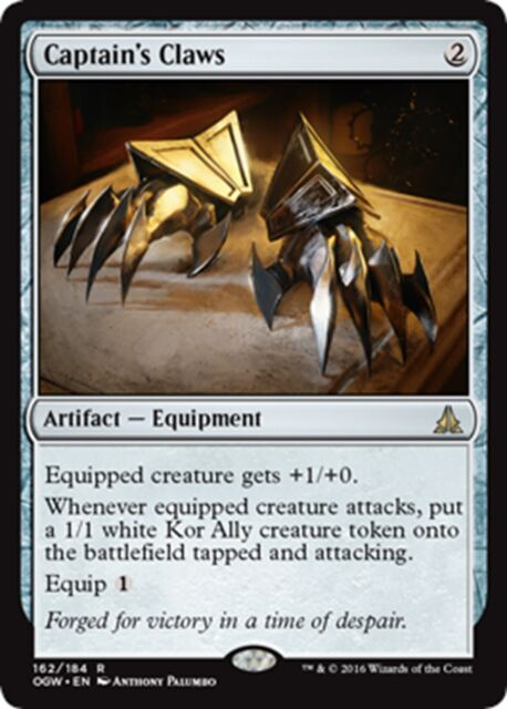 MTG Magic - (R) Oath of the Gatewatch - Captain's Claws - SP