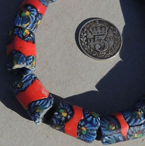 10-old-antique-venetian-tubular-millefiori-african-trade-beads-4761