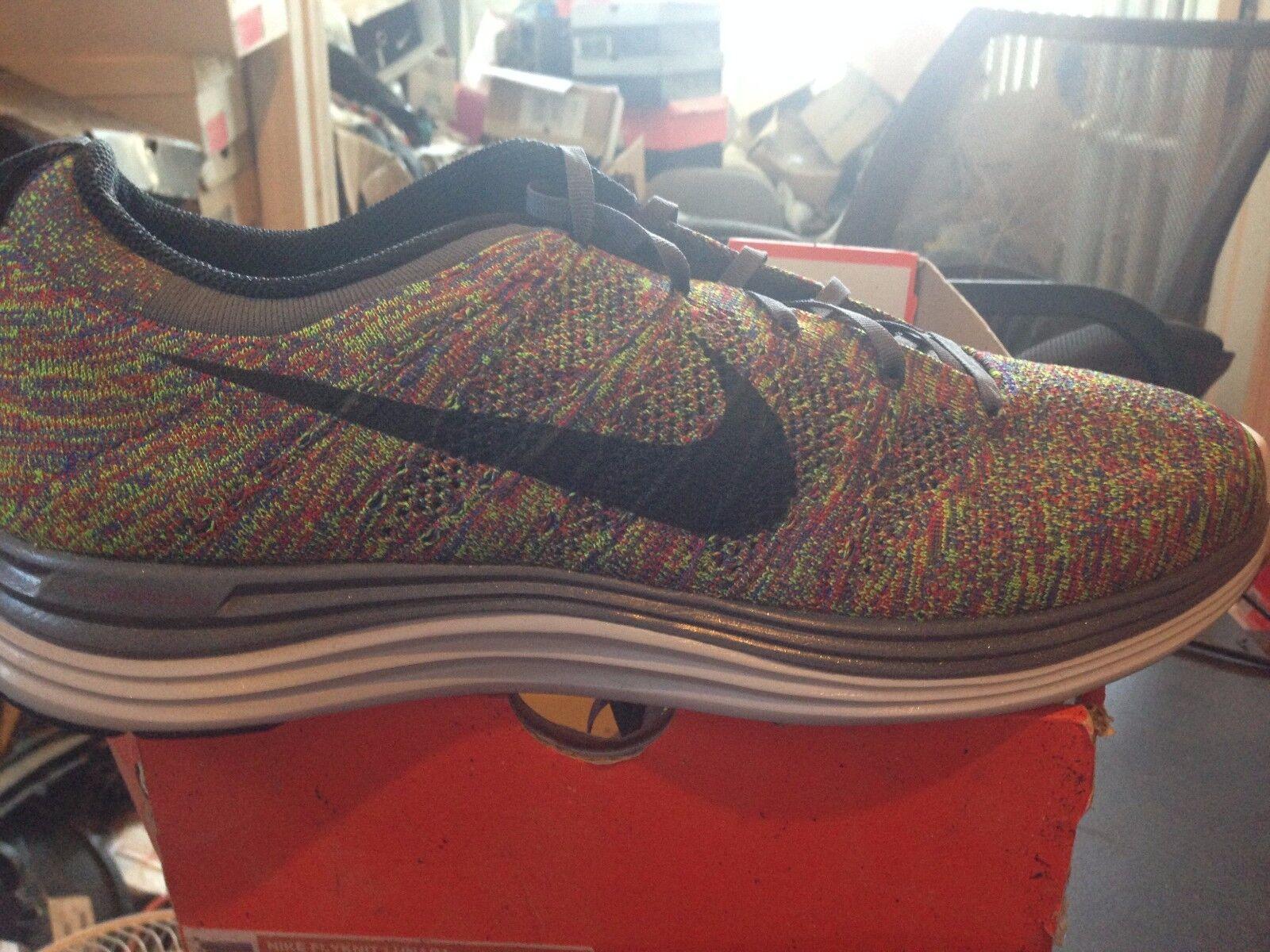 Nike flynit lunar 1 + / bnib grey / blk / + multi - numero 15 229395