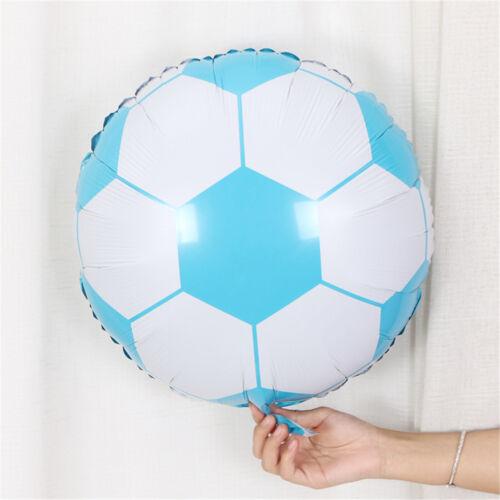 10 Stück 18 Zoll Fußball Folie Ballon Fußball Runde Helium Ballons CBL