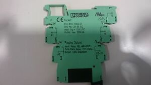 Phoenix Contact Model PLCBSC120UC21 Terminal Block with solid