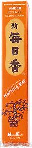 Nippon-Kodo-Morning-Star-Incenso-Giapponese-Ambra-50-Bastoncini-Porta