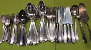 Besteck-WMF-3300-90-er-Silberauflage-6-12-Personen-45-teilig-Silber