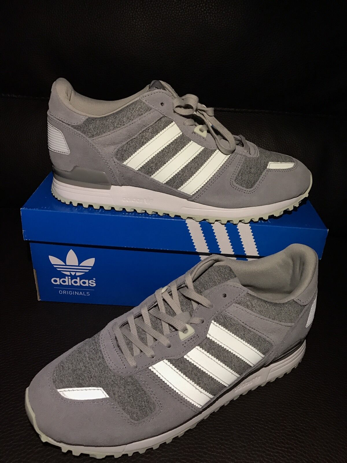 Adidas zx 700 W Gray Trainer Athletic zapatillas zapatillas 3 8,5 US 7 / 3 zapatillas 80015a
