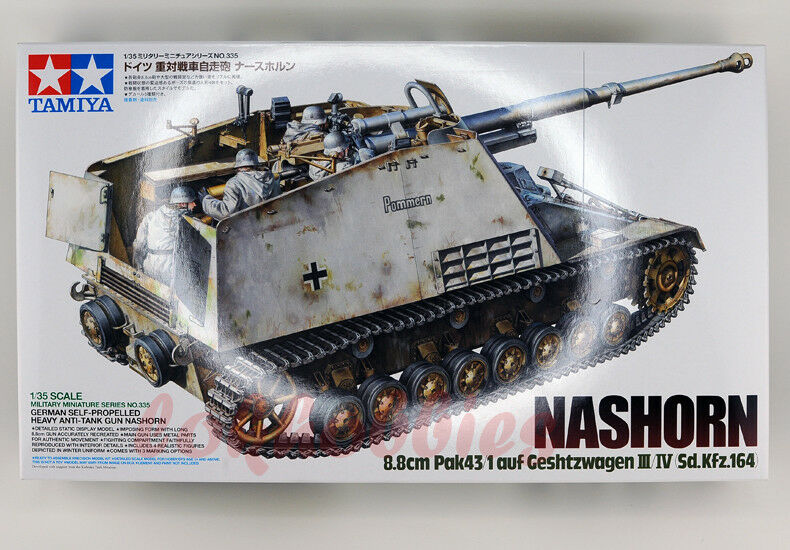 Tamiya Model 35335 1 35 WWII German Self-Propelled Heavy Anti Tank Nashorn