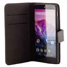 LG google Nexus 5 handy tasche schwarz case Brieftasche Wallet schutz hülle