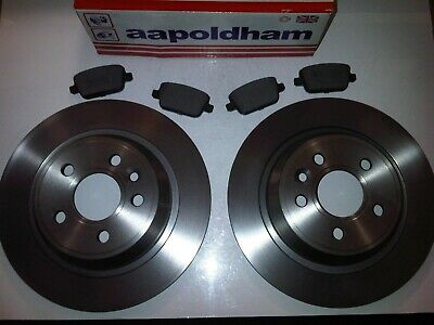 REAR DISCS AND PADS FOR FORD KUGA MK1 2.0 TD 2008-12 OEM SPEC FRONT