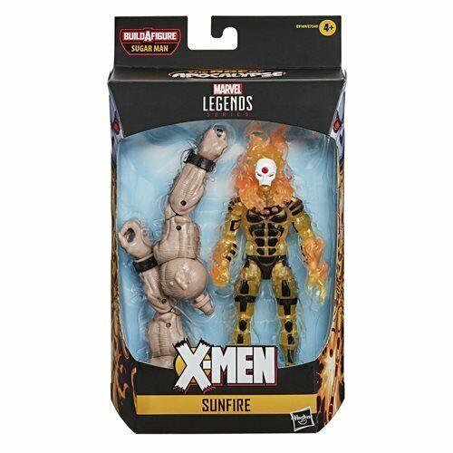 SHIPS 6-20! X-Men Marvel Legends 2020 6-Inch Sunfire Action Figure BY HASBRO