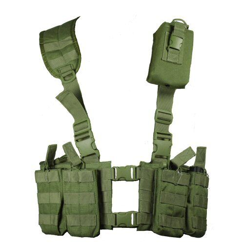 New Bulle Olive MOLLE Webbing NATO Lightweight M4 Harness