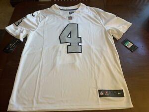 Nike Derek Carr Raiders On-Field Jersey Size XL 819064-102   eBay