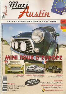 Original Maxi Austin 7 Mini 1000 & British Open Mini Marcos Montage Stage 1 Mans Classic Techniques Modernes