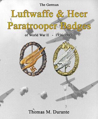 Luftwaffe and Heer Paratrooper Badges - WW2 German Paratrooper Badges