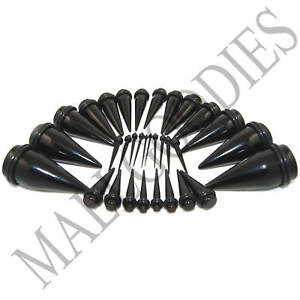V031-Black-Acrylic-Stretchers-Tapers-Expanders-Ear-Plugs-Stretching-Kit-3-pairs