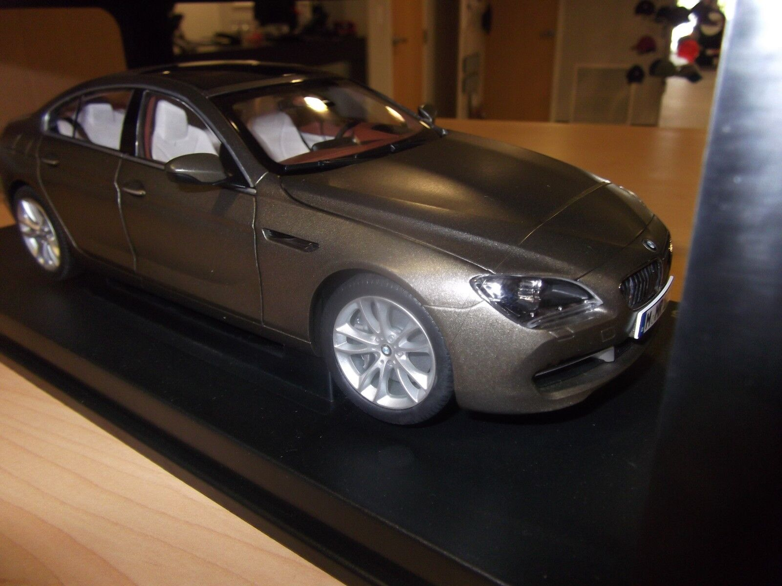 BMW 6 Series F06 Gran Coupe 1 18 scale Bronze Model Miniature 80432218742  OEM