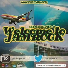 CONSCIOUS VIBES VOL 47  WELCOME TO JAMROCK  REGGAE CULTURE LOVERS ROCK MIX CD