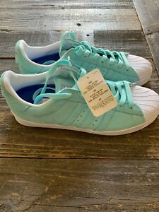 Adidas-Skateboarding-Superstar-Vulc-ADV-Aqua-Pastel-Size-8-US-Men-Skate-Shoes