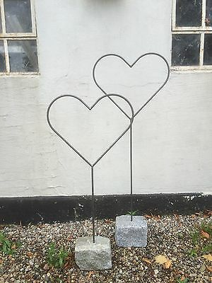 hjerter i jern til haven