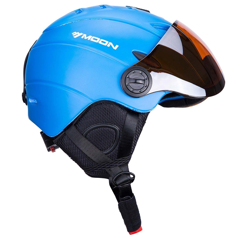 UNI  Ski Snowboard Helmet Attached Detachable Photo-chromatic Polarizing Goggles  presenting all the latest high street fashion