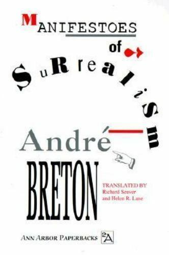 Ann Arbor Paperbacks: Manifestoes of Surrealism by André Br