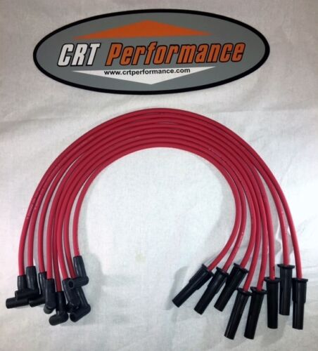FORD FE HEI 332,352,360,390,406,427,428 /& BIG BLOCK RED 8mm Spark Plug wires