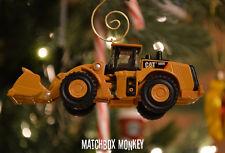 Custom Caterpillar CAT 980K Wheel Loader 1/94 Christmas Ornament Deere Volvo