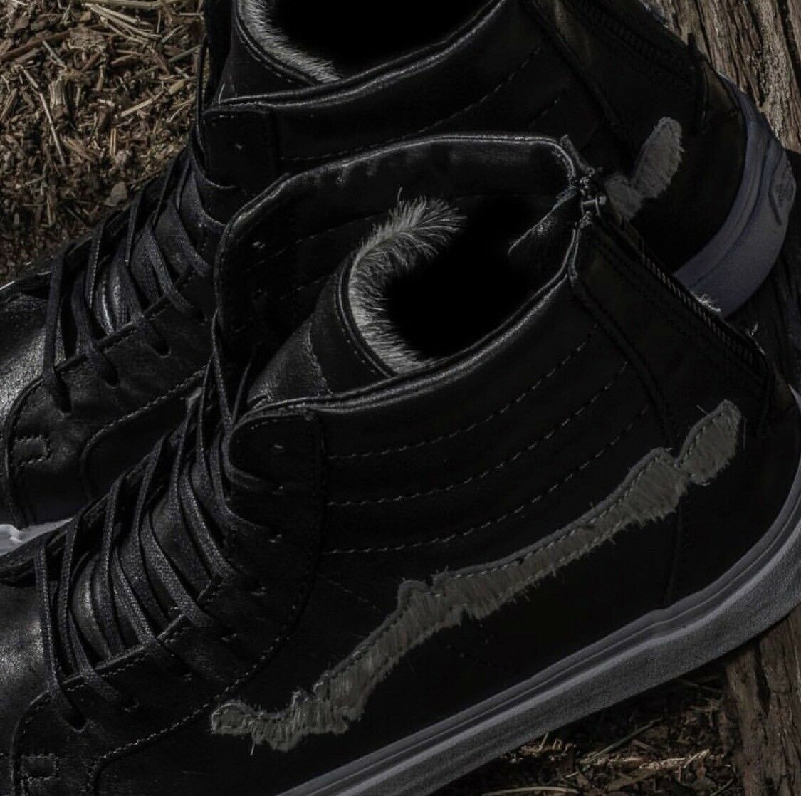 BLENDS x x x VANS BONES SK8-HI  REISSUE PONY HAIR EDITION Guarantee 11 eda8af