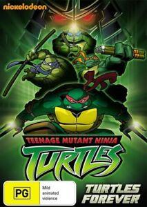 Teenage-Mutant-Ninja-Turtles-2009-Turtles-Forever-DVD-NEW-Region-4-Australia
