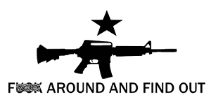 F Around And Find Out Come And Take It AR15 Battle Decal Window Sticker B2G1FRE