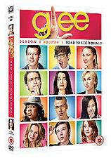 GLEE SEASON 1 VOLUME 1 ROAD TO SECTIONALS DVD 4 DISC SET
