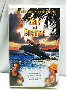 Details About Zeus And Roxanne Vhs 1997 Dog And Dolphin Video Movie Clamshell Free Ship