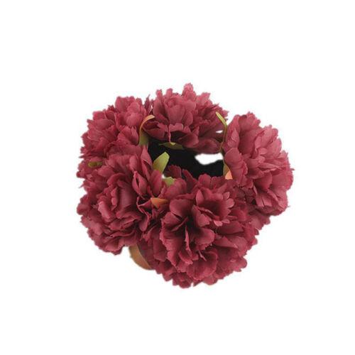 Beautiful Elastic Hair Rope Meatballs Headband Flower Hair Ring Multi-color LS