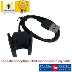 USB Charging Charger Cable For Fitbit Charge 3 55cm