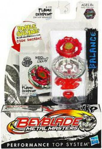 Serpent de flamme B-120 des maîtres en métal Beyblade 653569649045