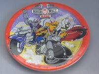 Biker Mice From Mars Vintage Party Plates -7 Inch - Set Of 8 - 1993