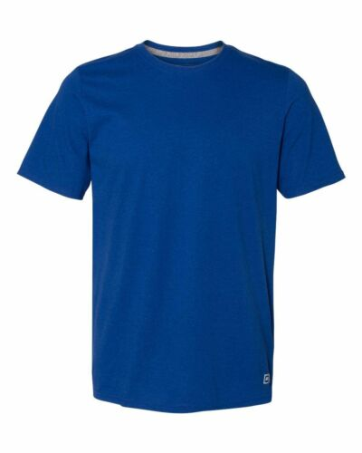 Russell Athletic S-3XL Sports T-Shirt Men/'s Essential Blend Performance Tee