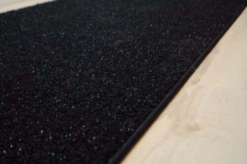 Glitzerteppich paillettes Tapis Velour 340x400 Noir