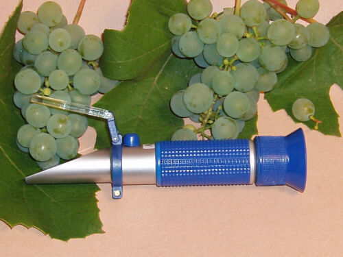 3 Skalig Winzer Mostwaage Profi Refraktometer für Wein Hand
