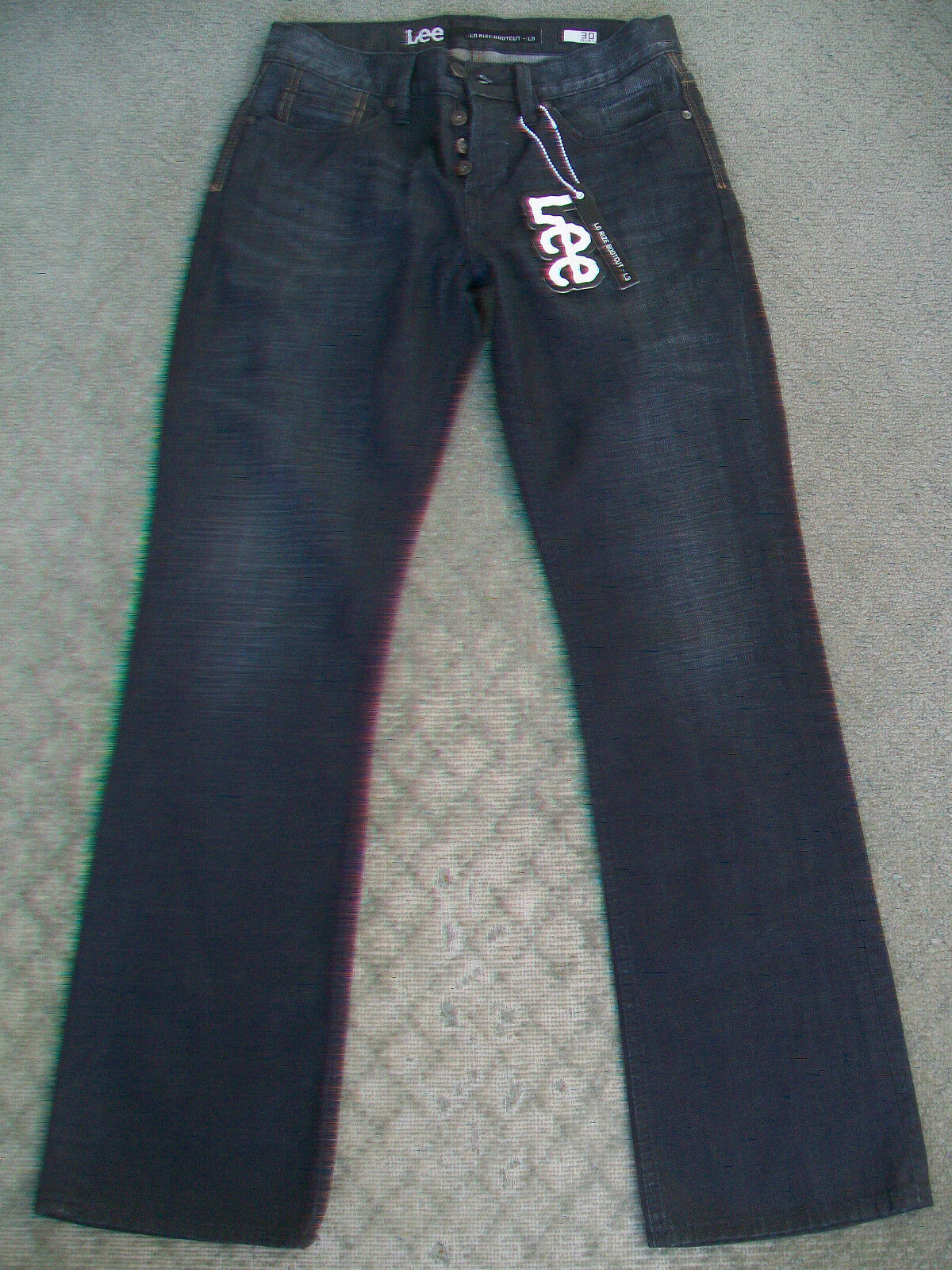 MENS LEE 'LO RIZE BOOTCUT L3' JEANS - BNWT - SIZE 30 S