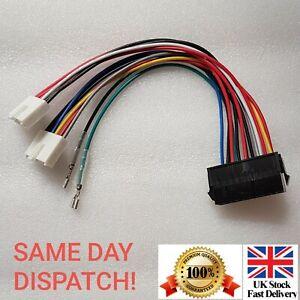 20P-ATX-to-2-Port-6Pin-AT-PSU-Convertisseur-Cable-d-039-alimentation-pour-ordinateur-286-386-486-586