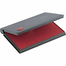 Red Stamp Pad Size 2 Large 6 14 X 3 14 2000 Plus